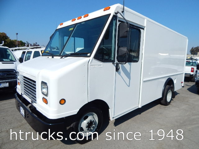 2007 Ford E350 12' Step Van / Walk-In on Dual Rear Wheels