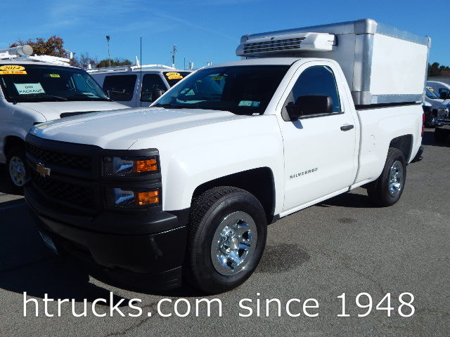 2015 Chev 1500 Short Bed Pickup with REFRIGERATED BOX