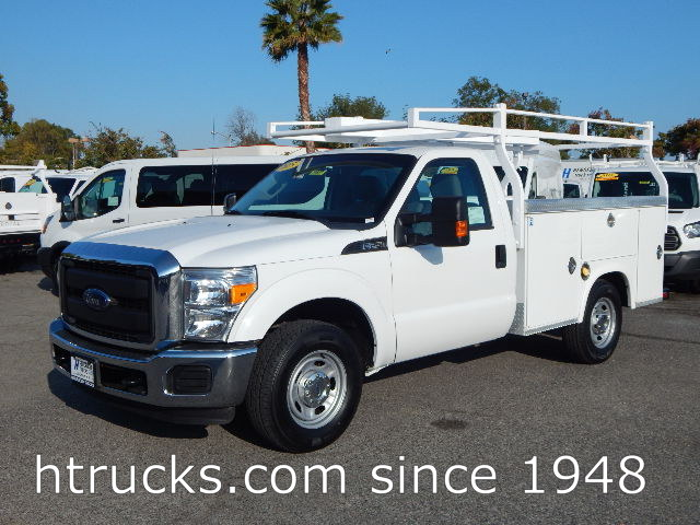 2015 Ford F250 8' Utility with RACK