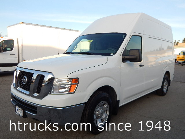 2013 Nissan NV3500 Cargo Van - HIGH ROOF - BINS