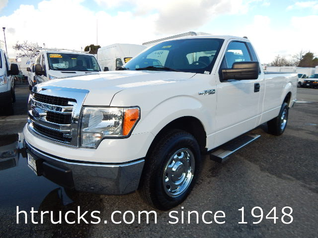 2014 Ford F150 8' Long Bed Regular Cab Pickup