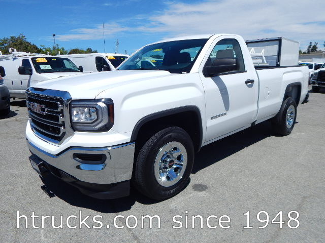 2017 GMC 1500 8' Long Bed Regular Cab Pickup