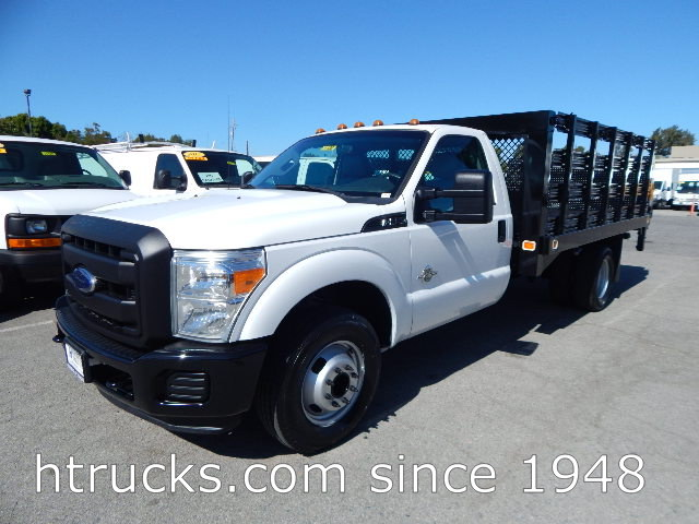 2012 Ford F350 13' Stake with LIFTGATE - DIESEL