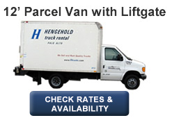 12' Parcel Van with Liftgate