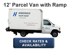 12' Parcel Van with Ramp