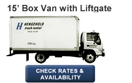 15' Box Van with  Liftgate