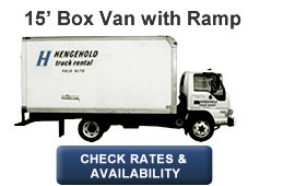 15' Box Van with Ramp