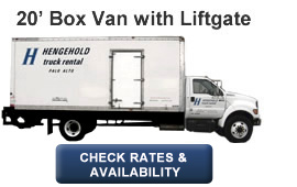 20' Box Van with Liftgate